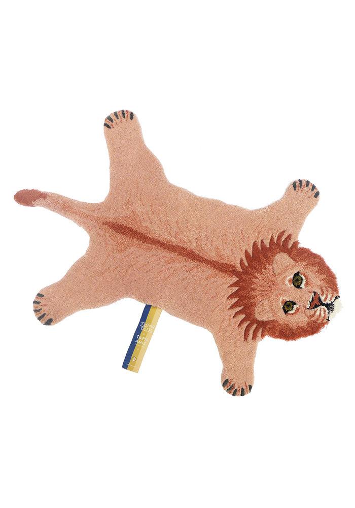 Doing Goods - PINKY LION RUG SMALL