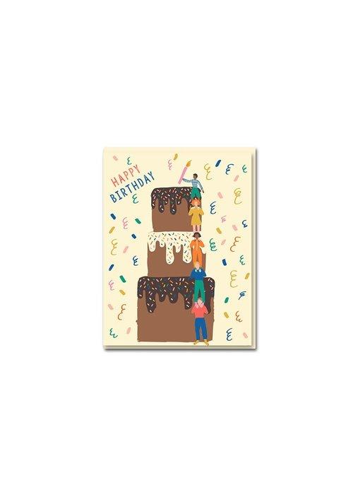 Kaart -  Cake Tower