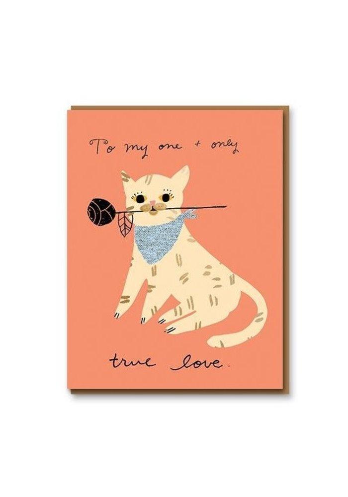 Kaart - Romance Cat