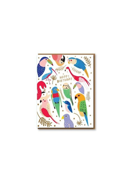 Card Company - Kaart Tropical Feathers