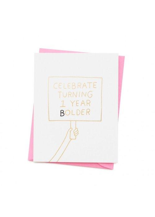 Card Company - Kaart One Year Bolder