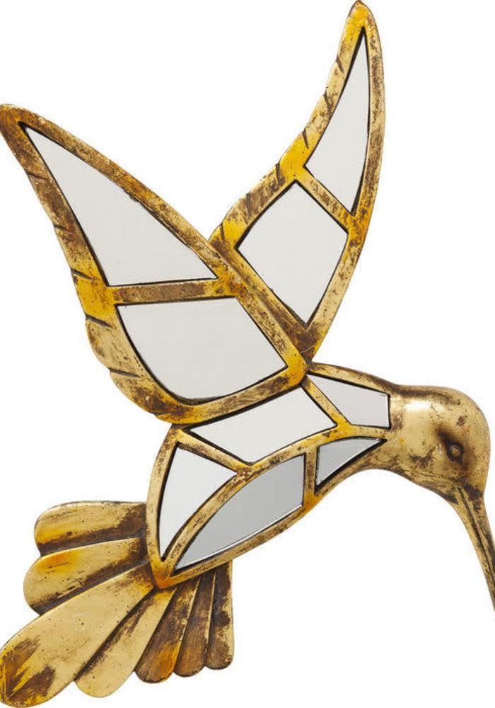 Kare Design - Wall Decoration Hummingbird Mirror 32 cm