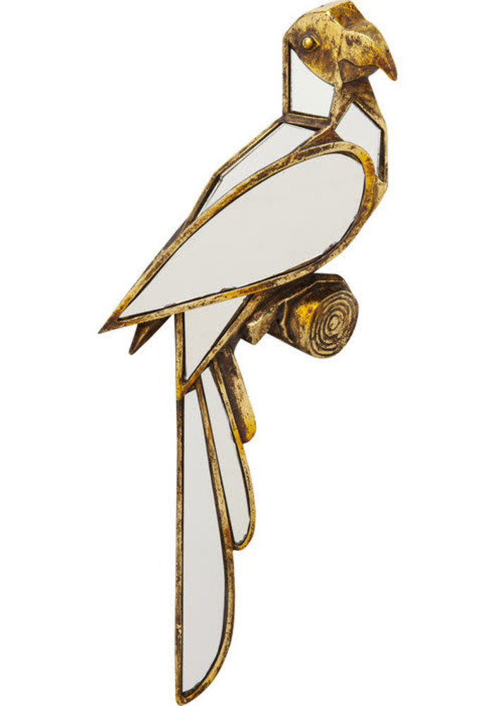 Wall Decoration -  Parrot Mirror