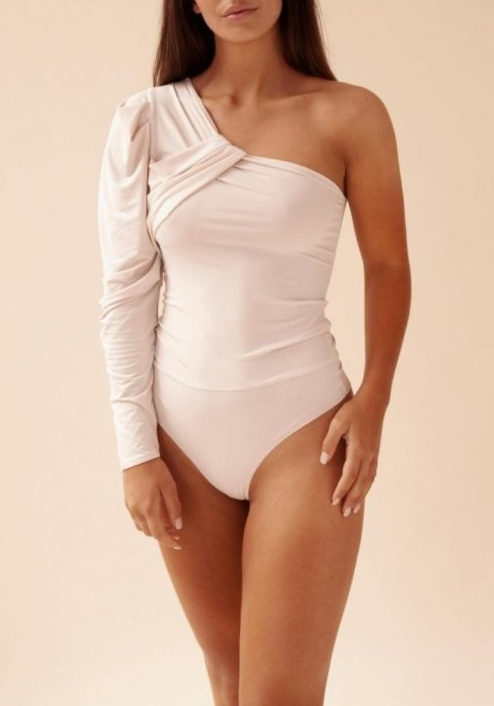 Body by Olcay - OneShoulder Body in Stone