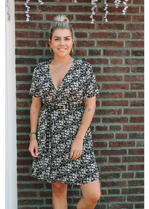 TIL TIL - Olivia wrap dress Black