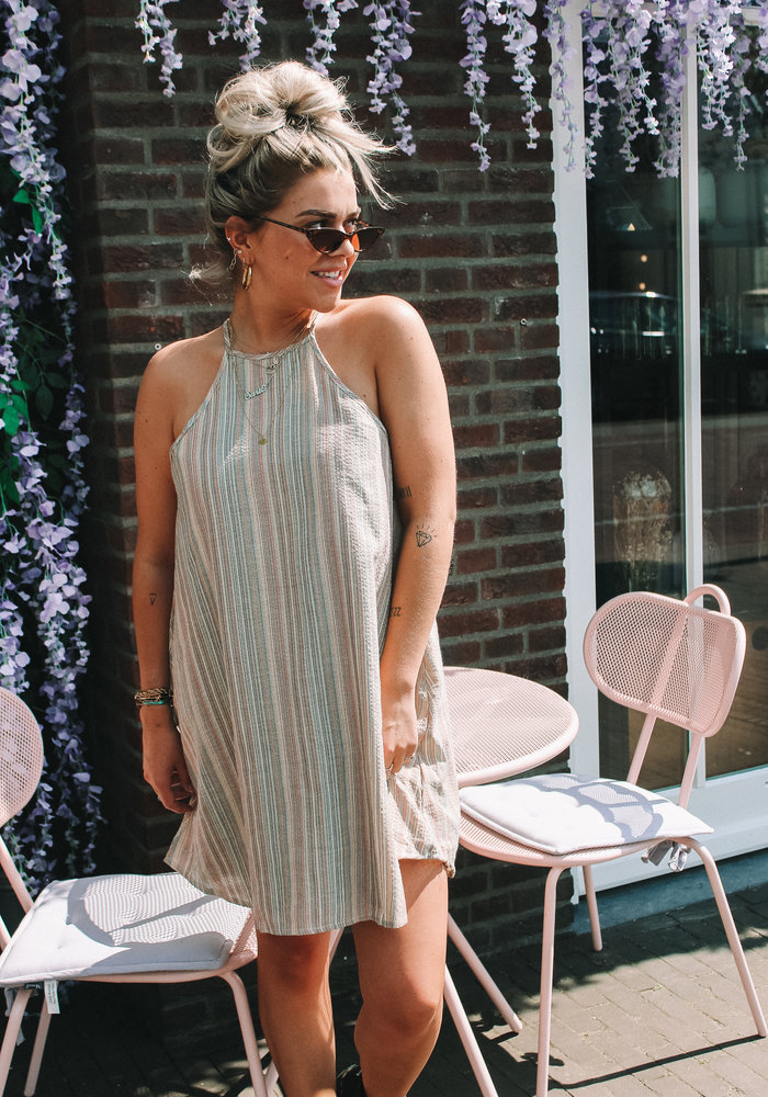 TIL TIL - Hailey Halter Dress