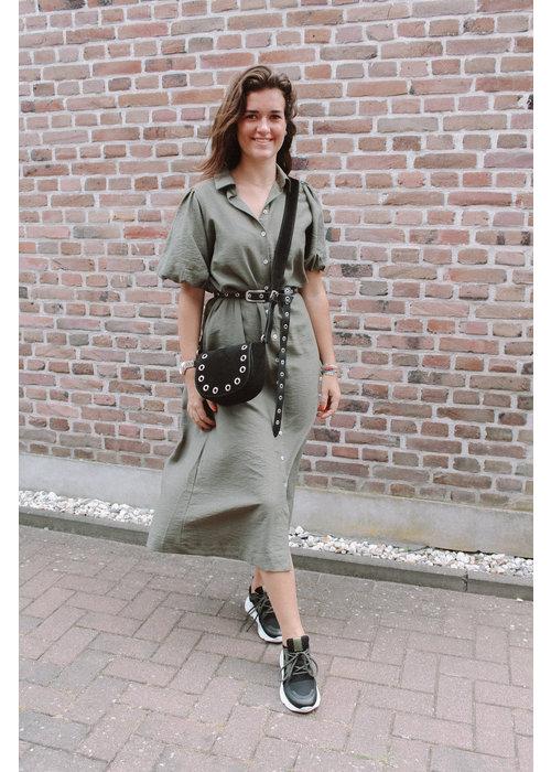 Sisters Point - Mena Dress Khaki