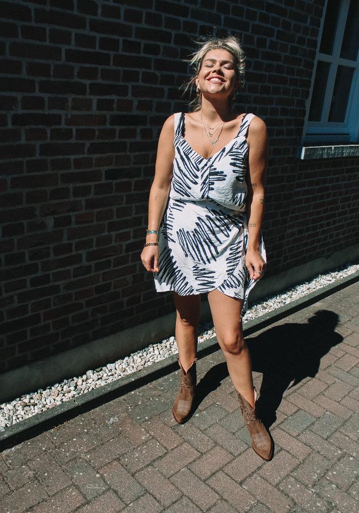 TilTil - Celine Skirt Black & White