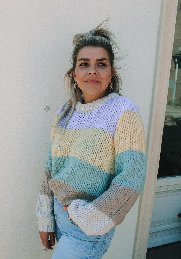 Siri Stripe  - Knit