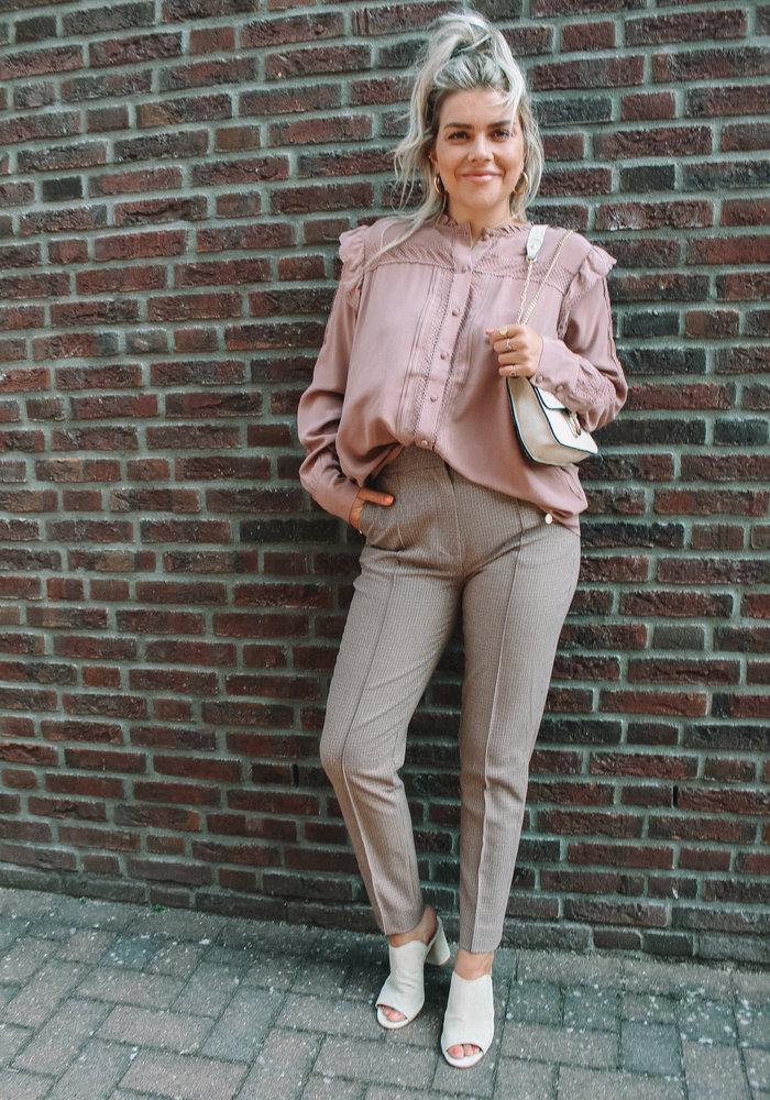 Harper & Yve - Amber Blouse Soft Pink