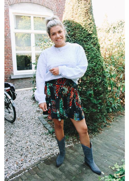 Alix Alix - Ladies Woven Big Circus Short Skirt