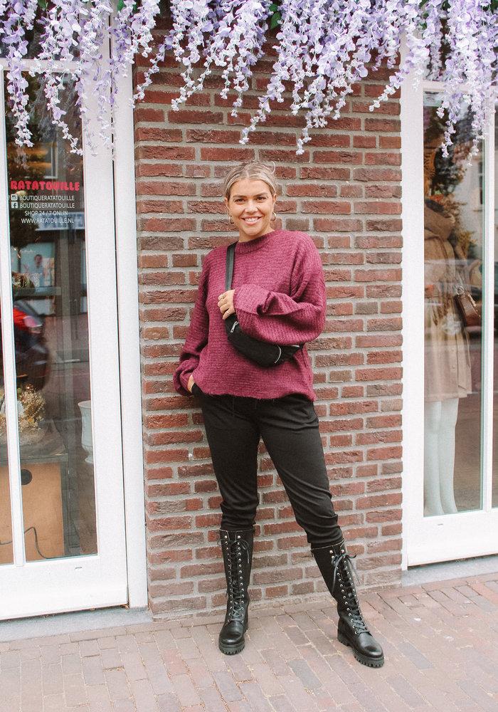 Ichi - Kate Pants Black