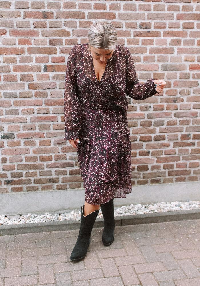 Freebird - Gaia Midi Skirt Purple