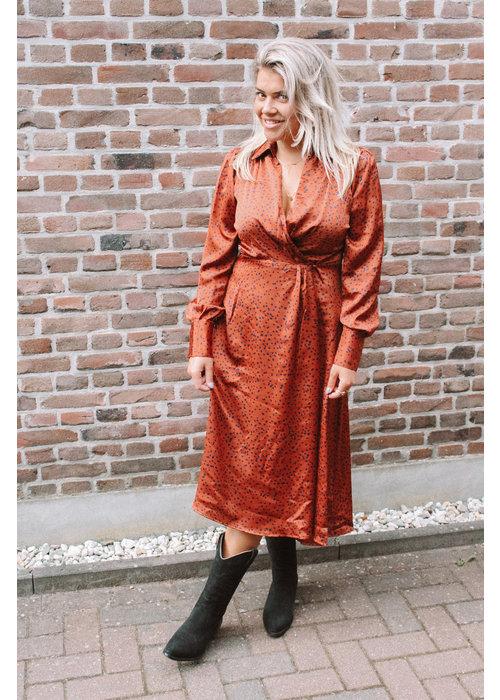 FRNCH Frnch - Robe Arielle Terracotta
