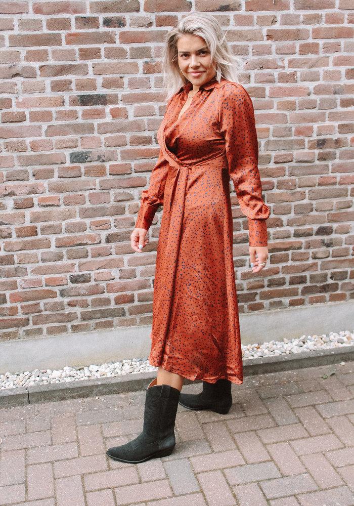 Frnch - Robe Arielle Terracotta