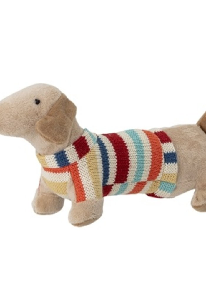 Bloomingville - soft toy multi color polyester Dog