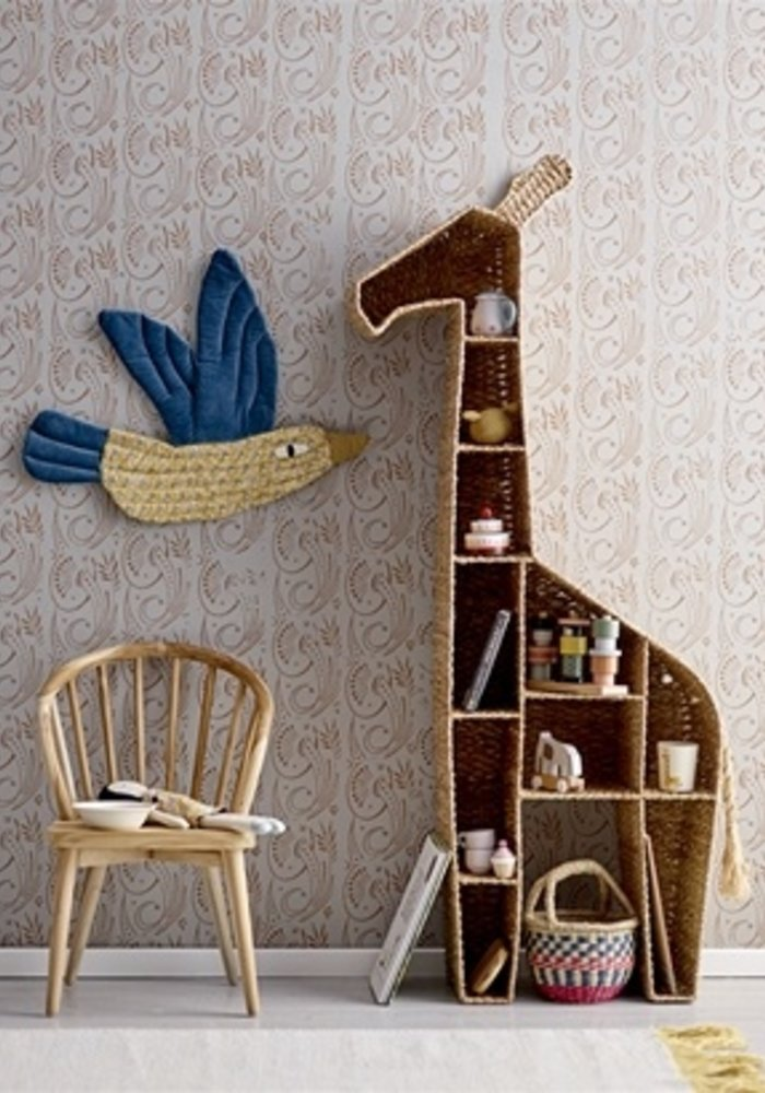 Bloomingville - Bookcase Nature Bankuan  Grass Giraffe