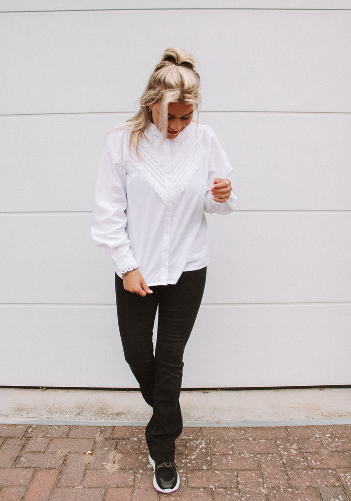 Moves By Minimum - Timmi white Blouse