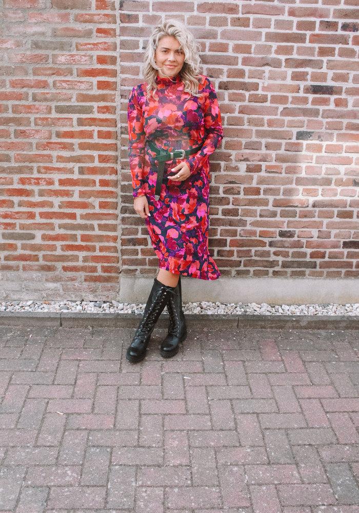 Freebird - Finne Midi Skirt Red
