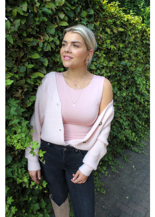 Body By Olcay Body by Olcay - Basic Crew Neck in Soft Pink