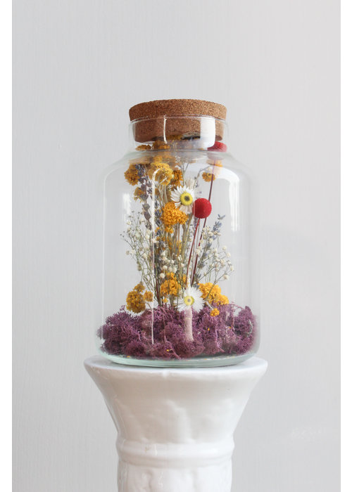 Ratatouille Melkbus droogbloemen LED 1