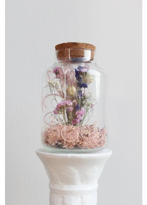 Ratatouille Melkbus droogbloemen LED 5