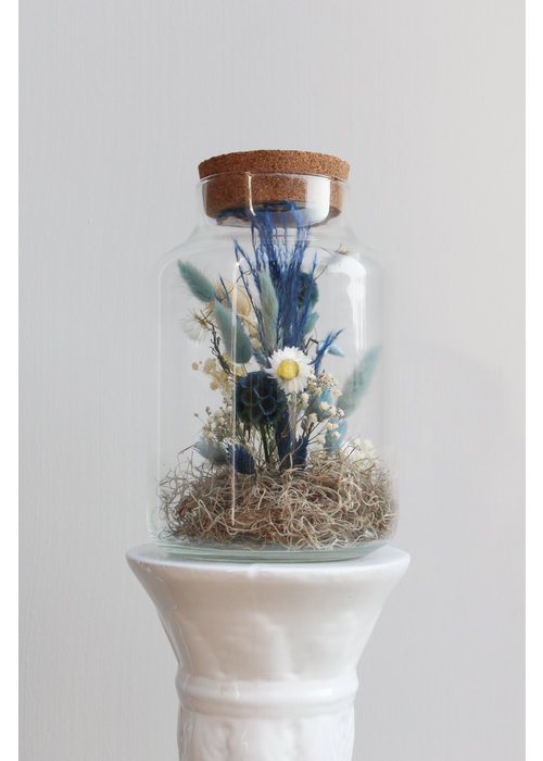 Ratatouille Melkbus droogbloemen LED 7