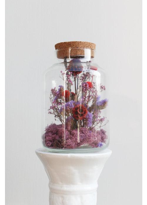 Ratatouille Melkbus droogbloemen LED 8