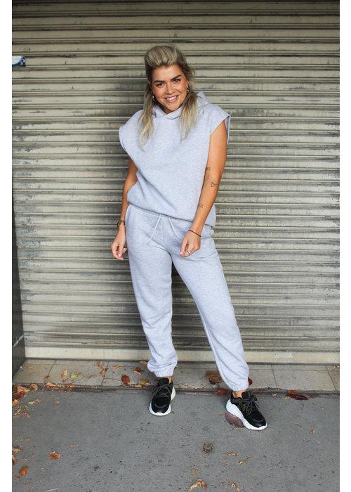 Sisters Point - Peva Pants Grey Melange