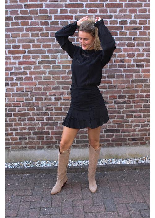 Harper & Yve Harper & Yve - Spencer Skirt Black