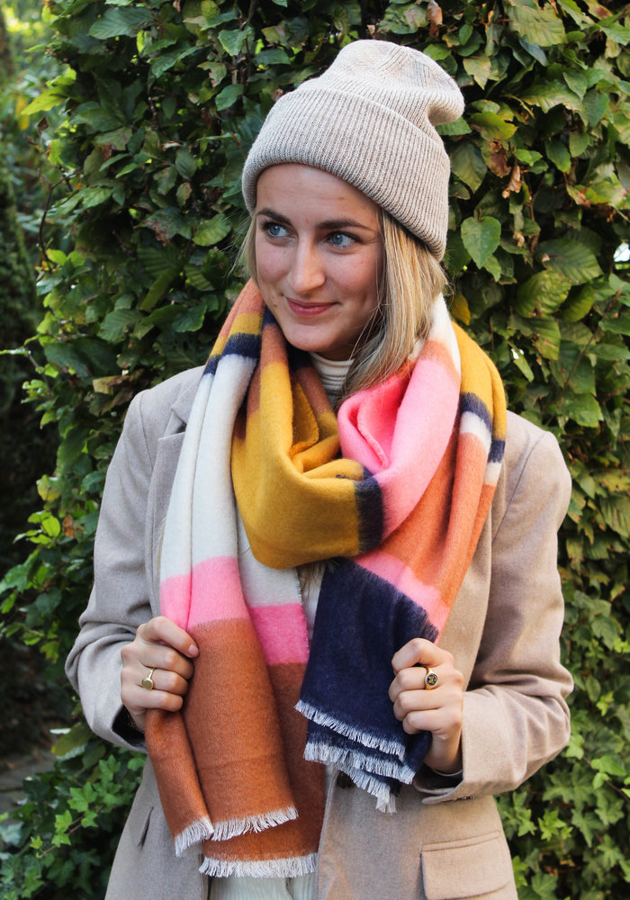 Pieces - Pcsikka Long Scarf Strawberry Pink