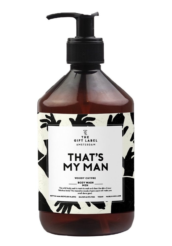 Gift Label - Body Wash Men Woody Chypre That's my man
