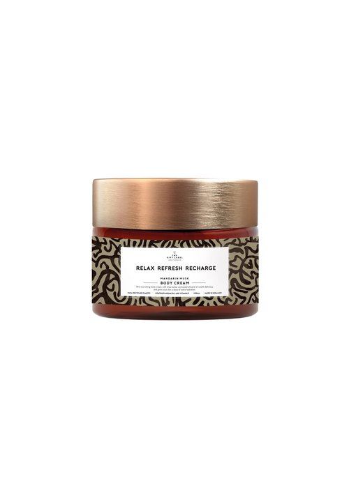Gift Label - Body Cream Relax Refresh Recharge