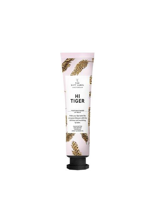 Gift Label - Lip Balm Tube Hi Tiger
