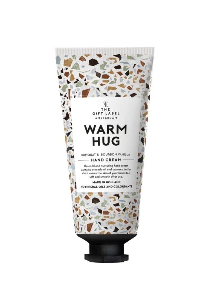 Gift Label - Hand cream tube You Warm Hug