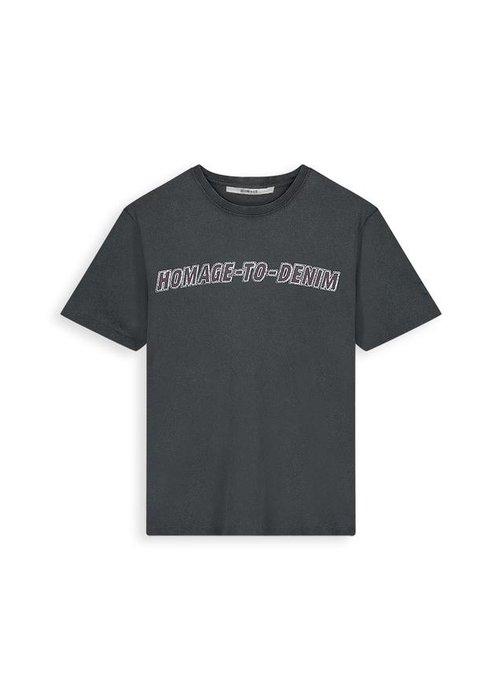 Homage Homage - Vintage Logo Tee Bluish Grey