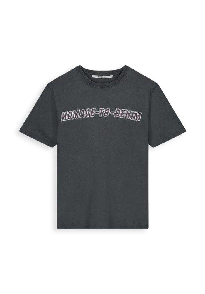 Homage - Vintage Logo Tee Bluish Grey