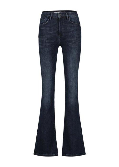 Homage Homage - Flared Jeans Dark Blue