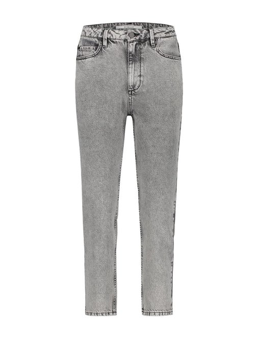 Homage Homage - Non Stretch Straight Jeans Acid Light Grey