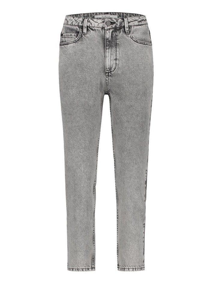 Homage - Non Stretch Straight Jeans Acid Light Grey