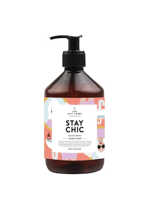 Gift Label - Handsoap Stay Chic  500ML