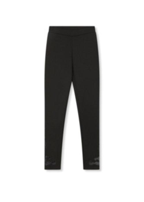 Alix Alix - Ladies Knitted Clean Pants Black