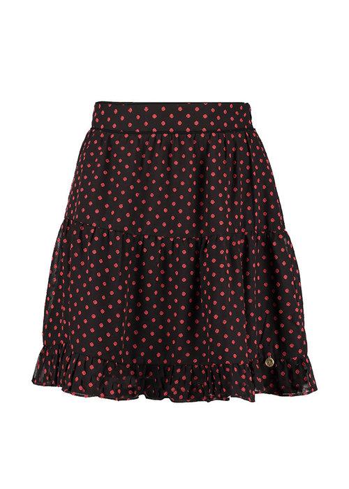 Harper & Yve Harper & Yve - Evi Skirt Brow/Red