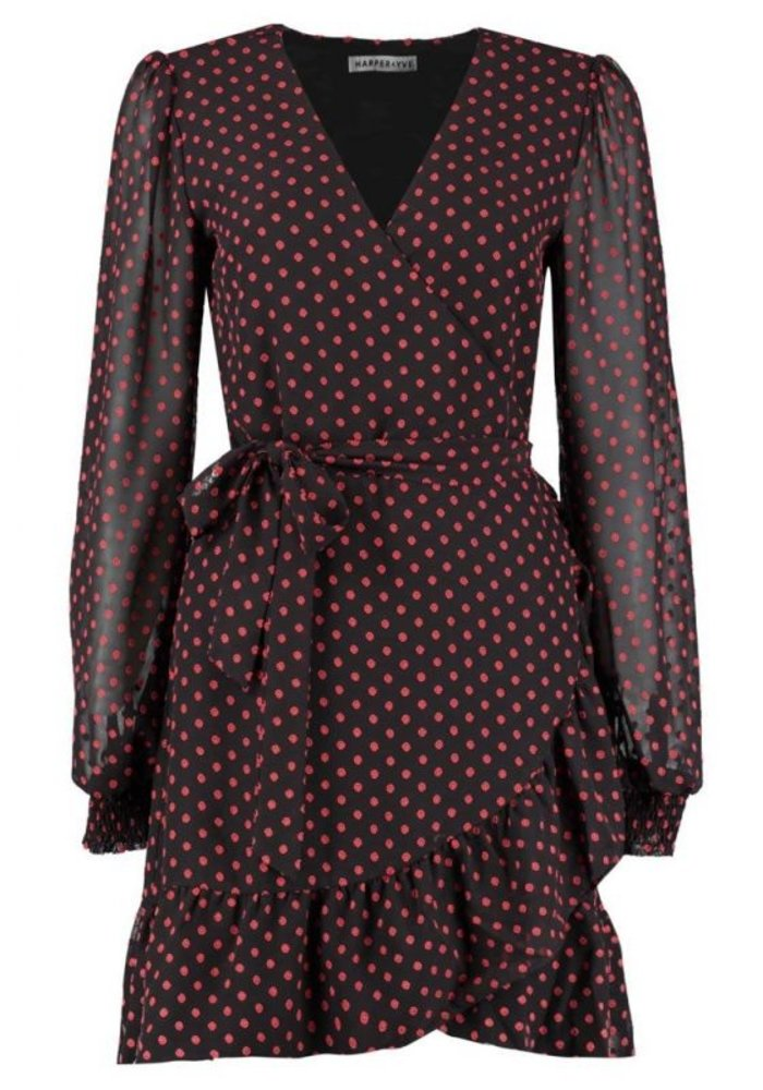 Harper & Yve - Evi Dress Brown/Red