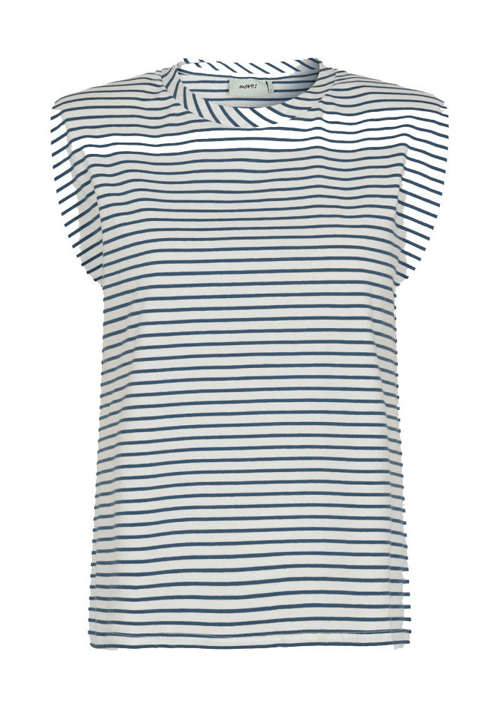 Moves- T-shirt Imma-Stripe Navy