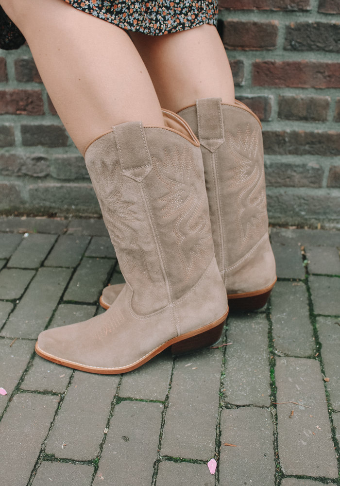 DWRS - HIGH TEXAS triple stitching Taupe (28261-01)