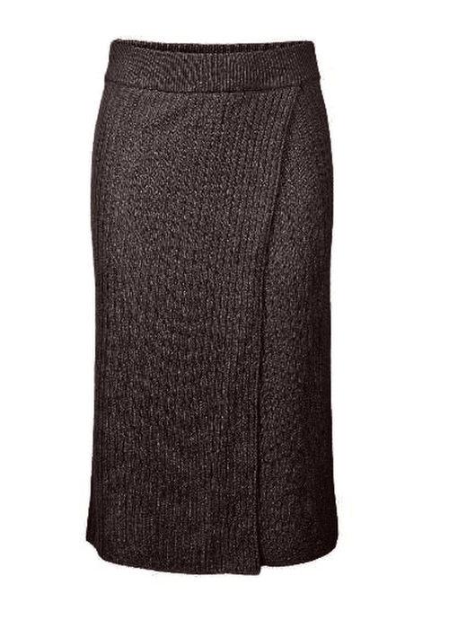 Pieces - Suna Knit Skirt Mole
