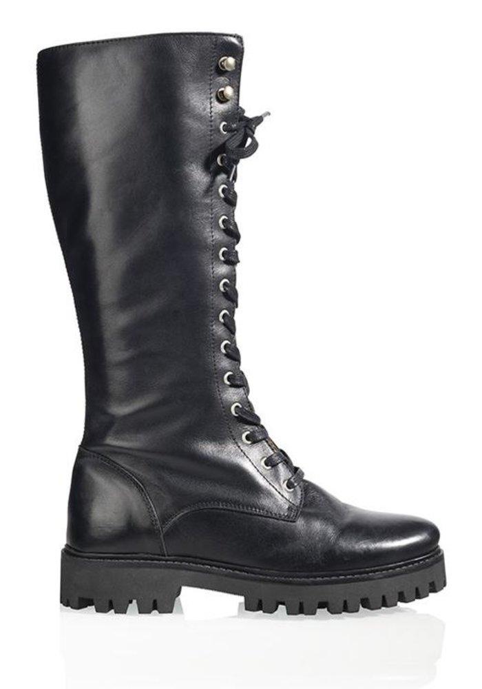 DWRS - Liverpool Black Boots