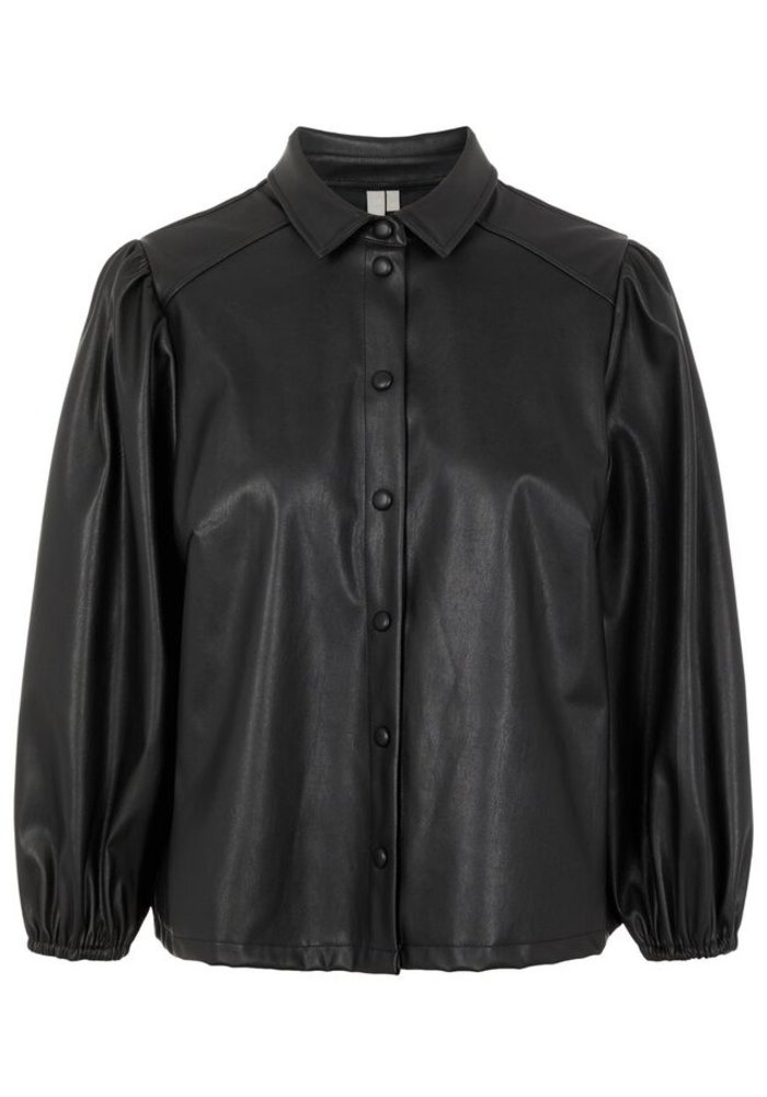 Pieces - Pcsalira 3/4 Shirt Black