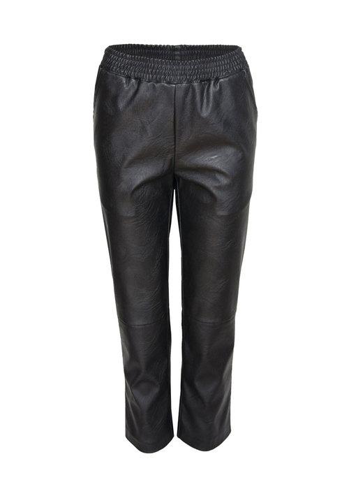 Pieces - Pcsalima Mw Cropped Pants Black